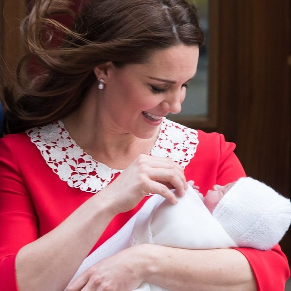 Prince Louis' First Official Photos Were Taken by Kate Middleton
