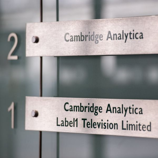 The People Behind Cambridge Analytica Have Started a New Company