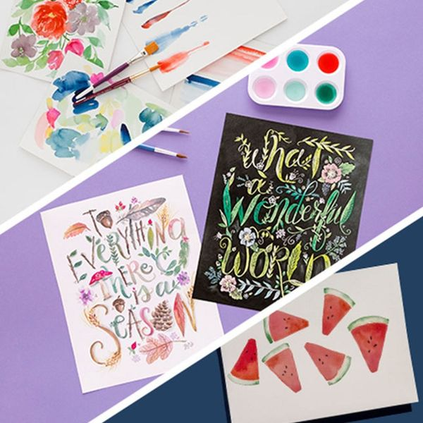 Master the Art of Watercolor with This 3-Class Bundle