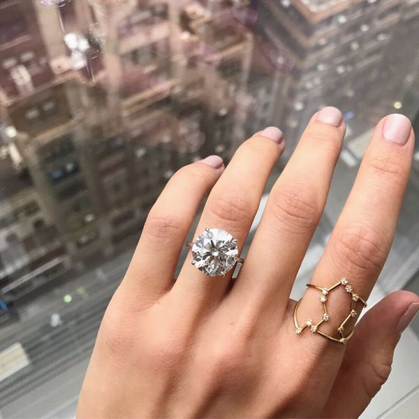 *This* Is the Most Popular Engagement Ring Style RN