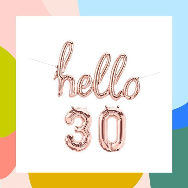 30 Ideas for Your 30th Birthday Party