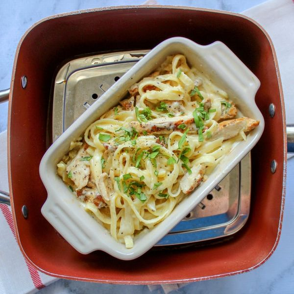 For Perfect Leftover Pasta, Use a Steamer Insert