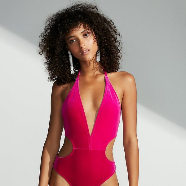 So, Velvet Swimwear Is Officially a Thing (And We're Here for It)