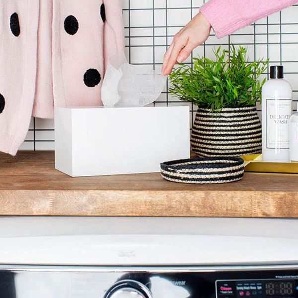 10 Laundry Room DIYs to Make Laundry Day More Efficient