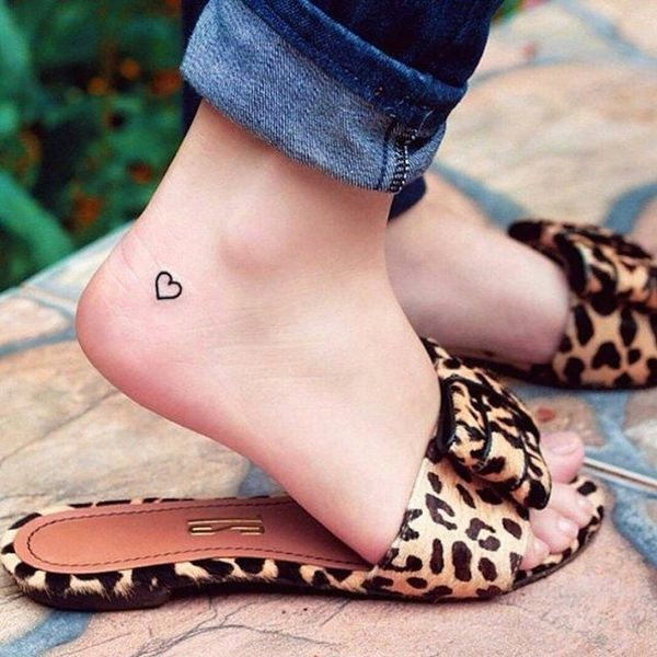 41 Tiny Ankle Tattoos With Big Meanings