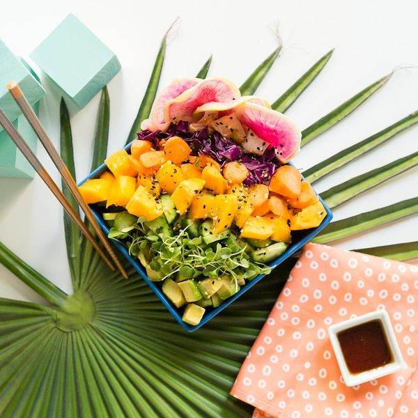 Feast Like a Mermaid With This Veg Bowl
