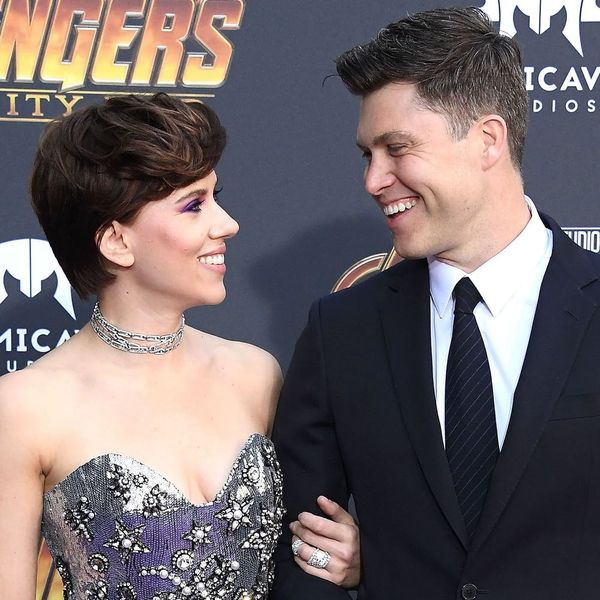 Scarlett Johansson and Colin Jost Just Made Their Red CarpetDebut as a Couple