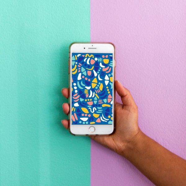 3 Mobile Wallpaper Downloads for People Obsessed with Patterns