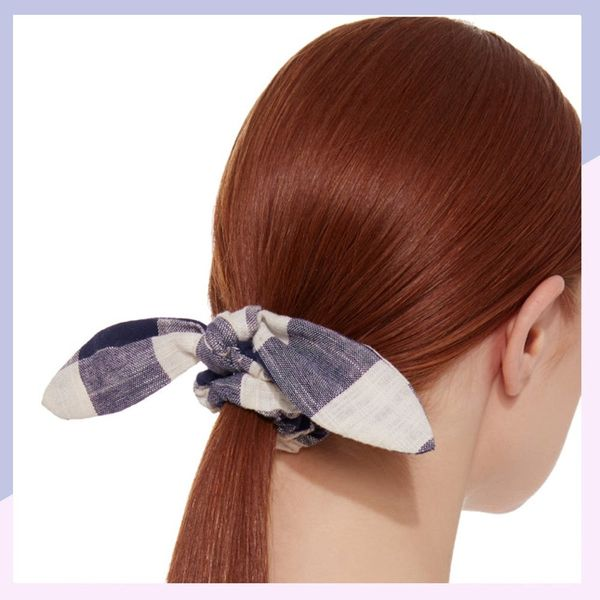 Yes, Scrunchies Are Back for Spring, So Just Go With It