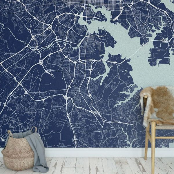 This Wow-Worthy Wallpaper Inspired by Your Fave Cities Is the Ultimate Personalized Decor