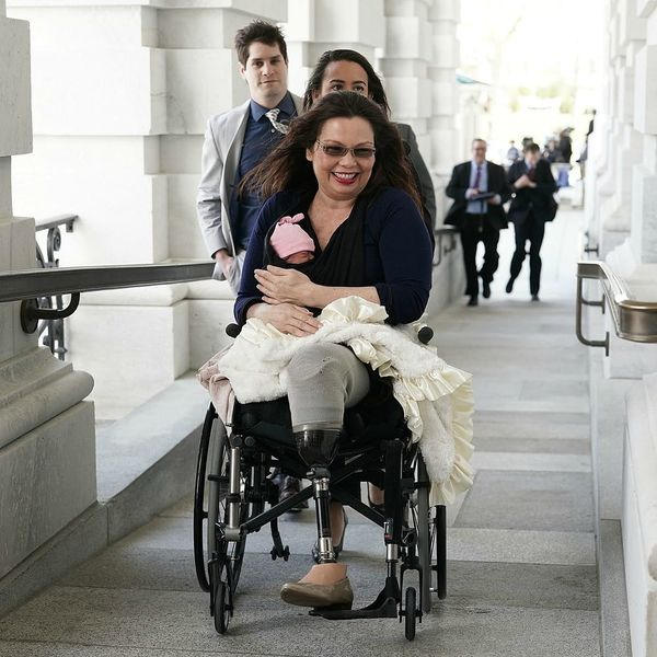 Sen. Tammy Duckworth Brought Her Newborn Daughter to the Senate Floor
