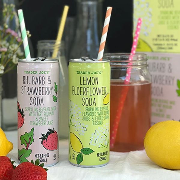 Yes! This New Trader Joe's Soda Is Probably Inspired by the Royal Wedding Cake