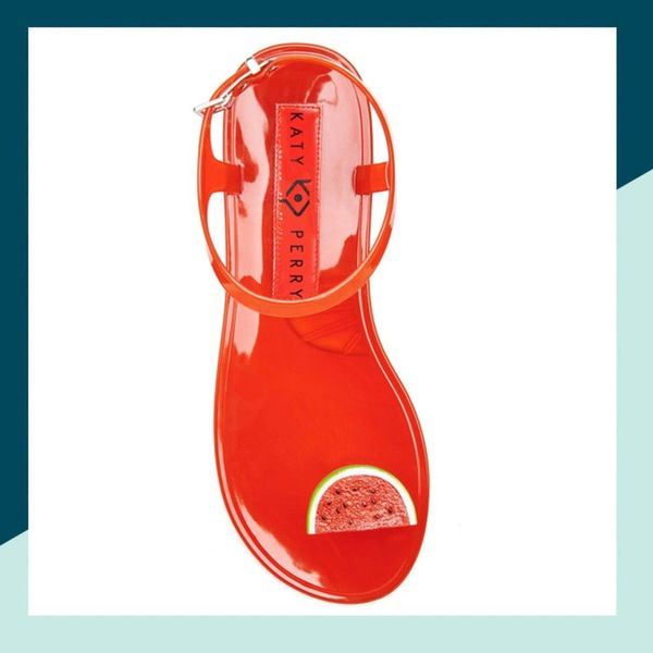 Katy Perry Is Releasing Fruit-Scented Jelly Sandals and They're Already Selling Out