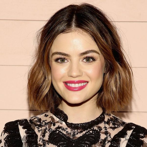 Lucy Hale Debuts Sunny Blonde Hair for Spring