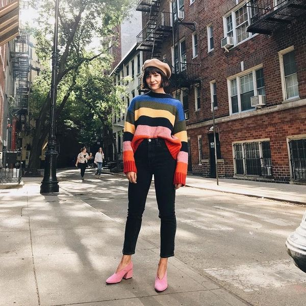 These 10 Instababes Are Embracing the Sweater Tuck This Spring
