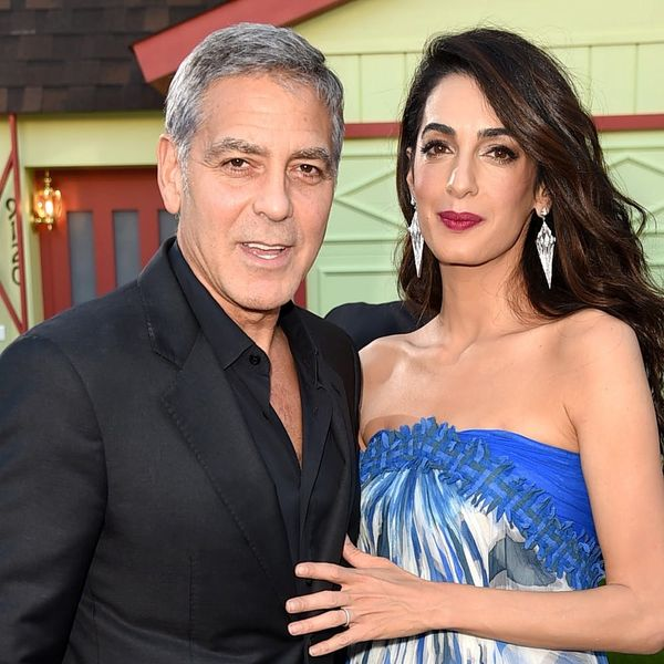 Watch George Clooney Reminisce About the Night He Met Amal