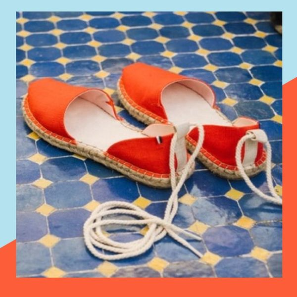 Here's Your Sneak Peek at the Brand New TOMS x Clare V. Collaboration