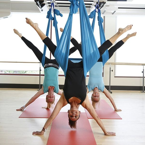 5 Reasons Every Mom Should Try Aerial Yoga at Least Once