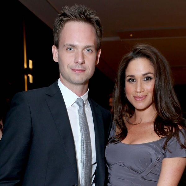 Here's What Meghan Markle's On-Screen Fiancé Patrick J. Adams Is Giving Her and Prince Harry for Their Wedding