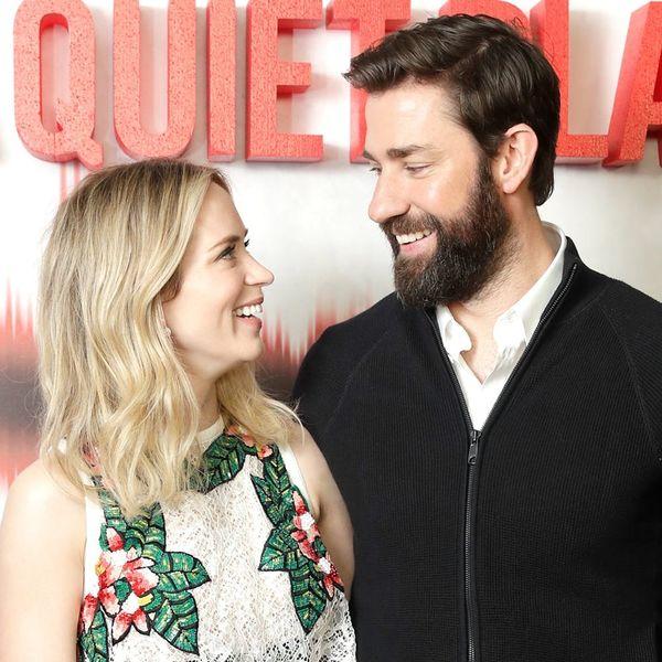 Emily Blunt Says It Was Love at First Sight With Husband John Krasinski