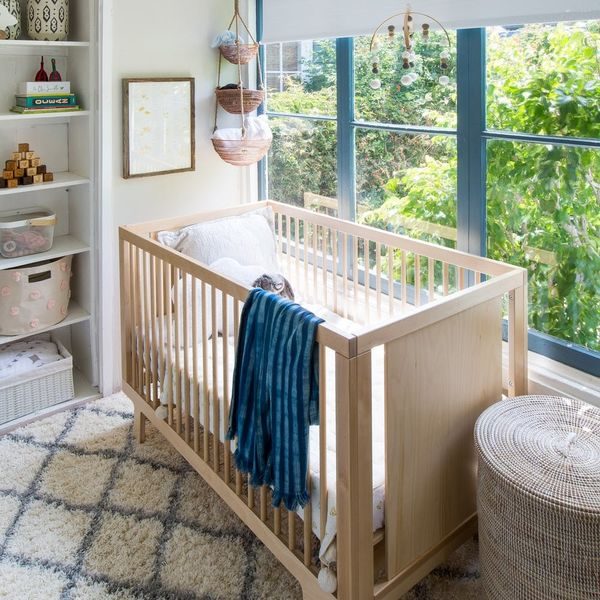 This Blogger's Nursery Fits Serene Vibes into Just 140 Square Feet