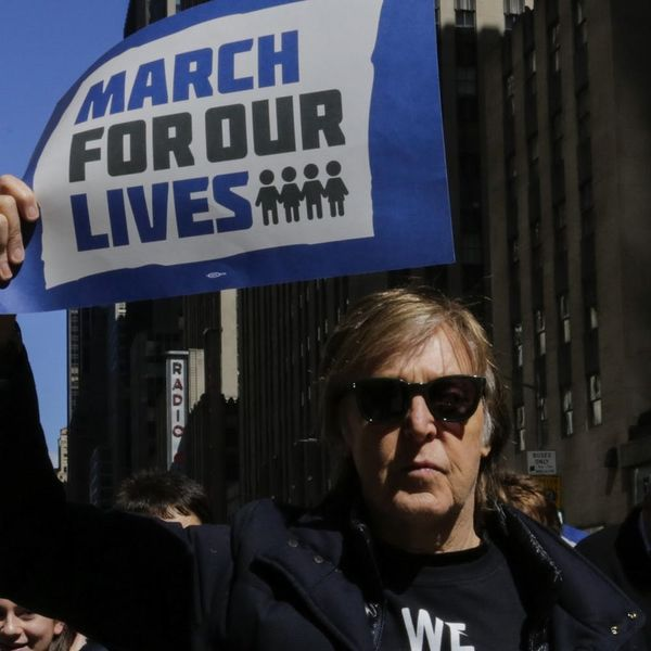 Sir Paul McCartney's Reason for Attending the March for Our Lives Will Make Your Dad Cry