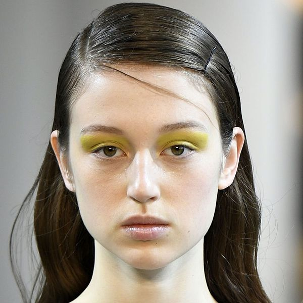 Yellow Eyeshadow Is Having a Serious Moment, You Guys