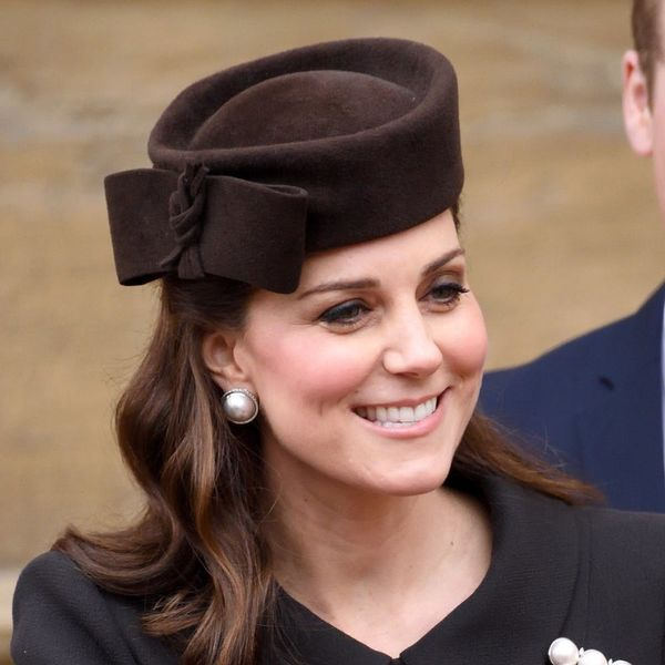 Kate Middleton Makes a Surprise Easter Appearance in Pearls