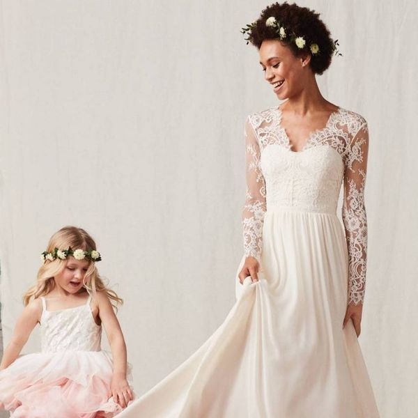 H&M's New Wedding Collection Includes Gowns That Look Like Kate and Pippa Middleton's
