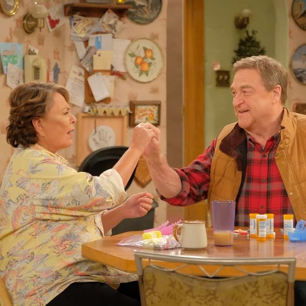 Here's How the 'Roseanne' Reboot Explained Away Dan's Death in the Original Series