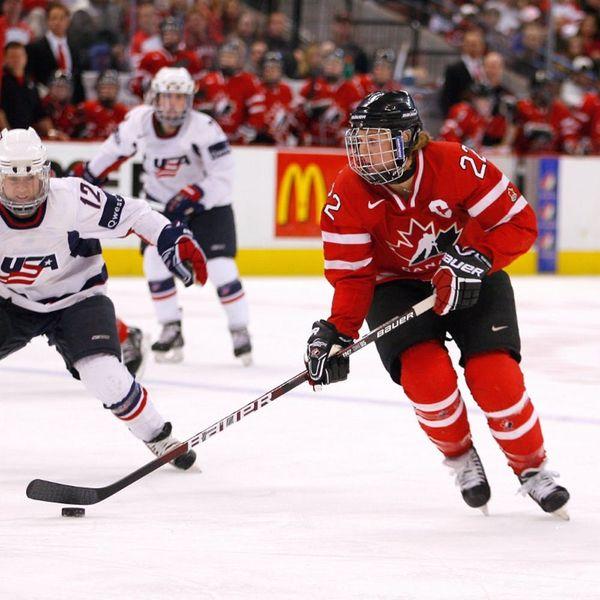 Olympian Hayley Wickenheiser on Succeeding in a Male-Dominated Sport