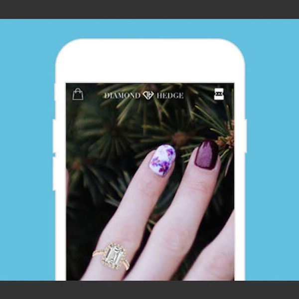 Find Your Perfect Engagement Ring With This Virtual Try-On App