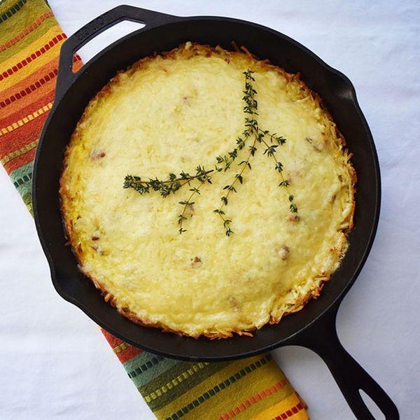 Potato Crust Is the Secret Weapon for This Tasty, Gluten-Free Quiche Lorraine Recipe