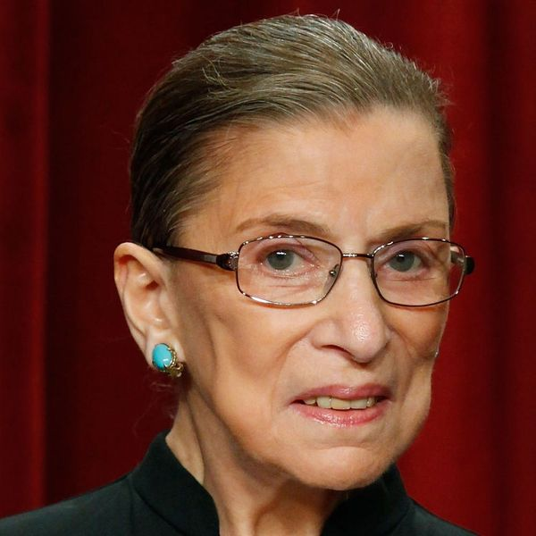 Ruth Bader Ginsburg Has a Scrunchie Collection You Wouldn't Believe