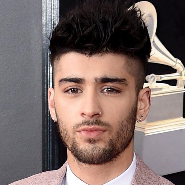 Zayn Malik Just Got a Massive Rose Tattoo… on the Back of His Head