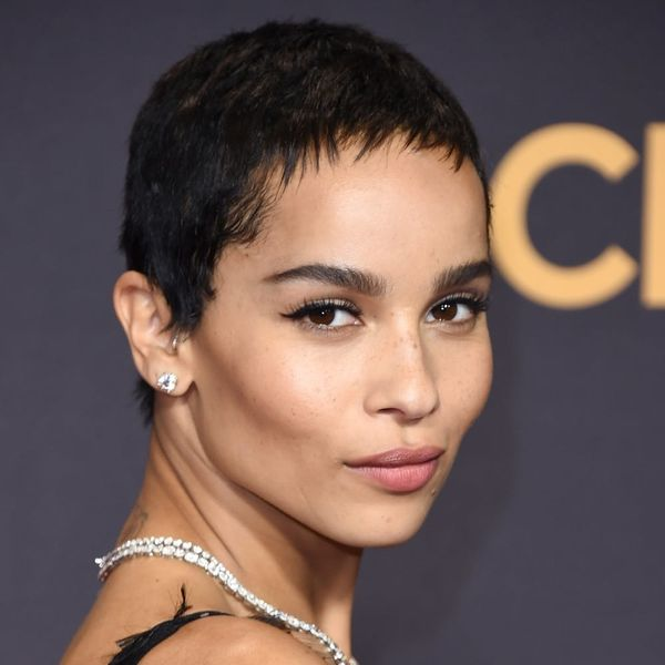 Zoë Kravitz Posted a Tantalizing Selfie from the Set of 'Big Little Lies' Season 2