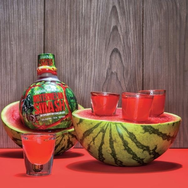 Forget Rosé — This New Watermelon Rum Comes in a Scratch-N-Sniff Bottle!