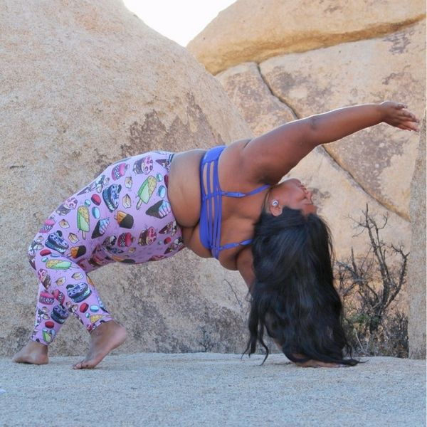 This Plus-Size Badass Is Demonstrating That You Can Do Yoga at Any Size