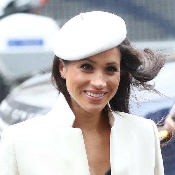 Meghan Markle Wears Beret for Her First-Ever Appearance With Queen Elizabeth II