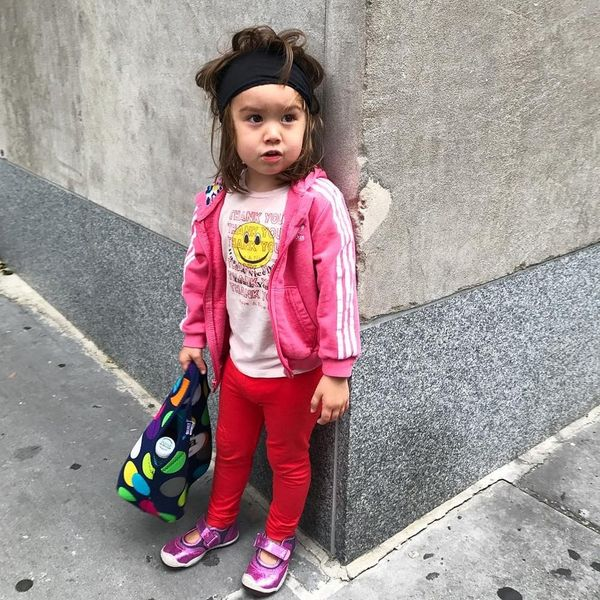 This Three-Year Old (Yes, Three) Fashionista Is Killing the #OOTD Game