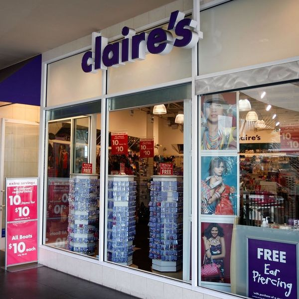 Claire's Is Reportedly Filing for Bankruptcy and Our Teenage Hearts Are Broken