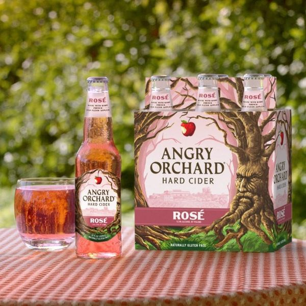 Angry Orchard's New Rosé Cider Will Make You Feel Princess-y
