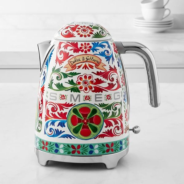 """Dress Your Kitchen Counters With Designer """"Apparel"""" via the New Smeg x Dolce & Gabbana Collection"""