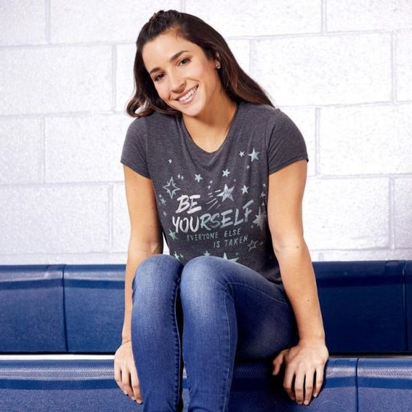 Aly Raisman Wants to Remind You That Life Is Good