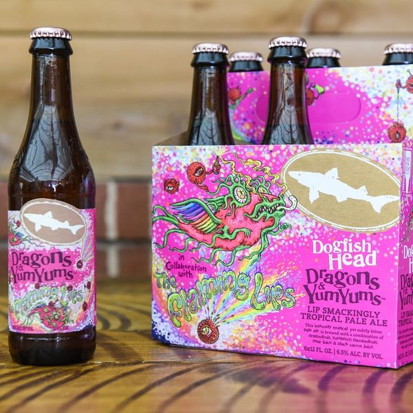 Are You Sitting Down? Because Flaming Lips Just Made a Pink Beer