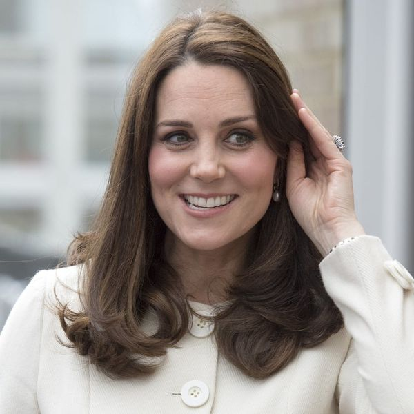 Here's Where You Can Snag Kate Middleton's Cream Maternity Coat for Under $100