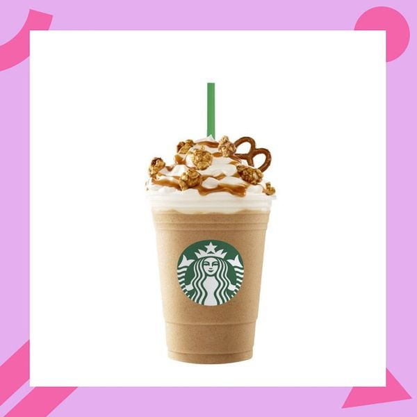 This New Caramel Pretzel Frappuccino Features Another Unexpected, Crunchy Topping