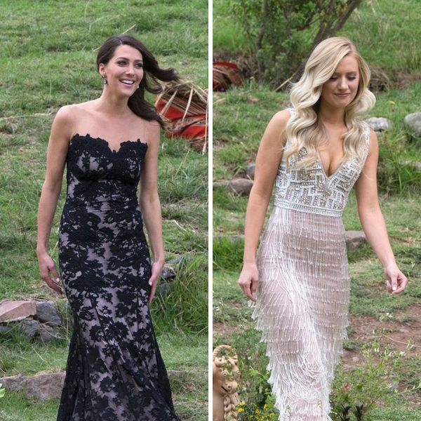 Here Are the Exact Dresses the Bachelor Finalists Wore to Last Night's Final Rose Ceremony