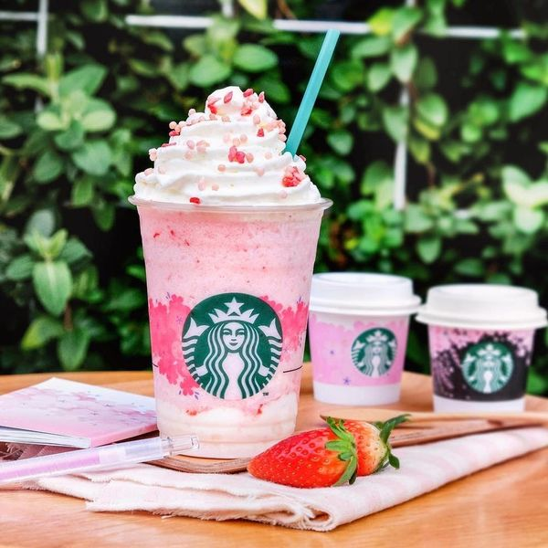 Starbucks Releases ANOTHER Millennial Pink Frapp for Us to Swoon Over