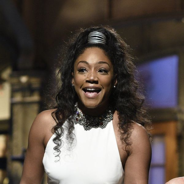 Tiffany Haddish Just Recycled Her 'SNL' McQueen Gown at the 2018 Oscars — and We Are HERE for It